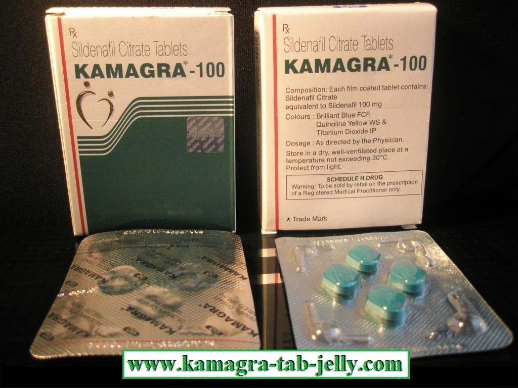 KAMAGRA (Sildenafil) x 3