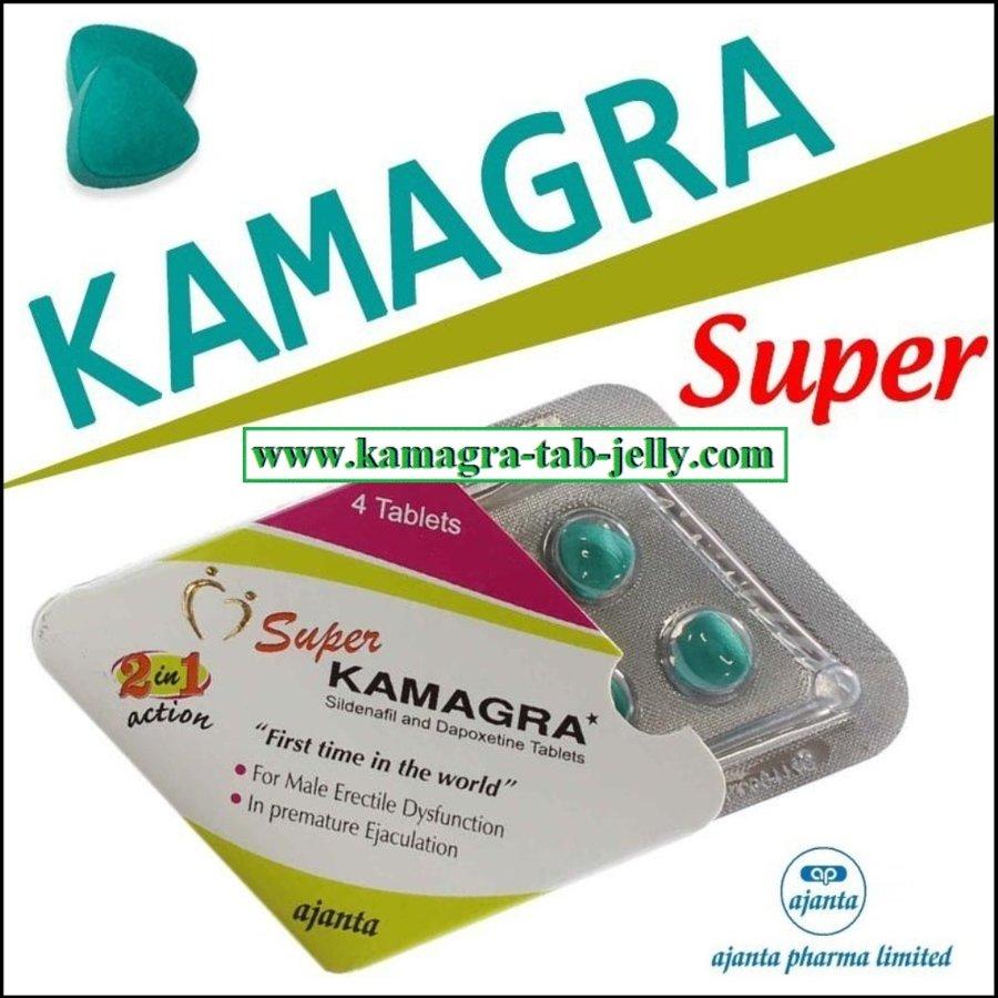 SUPER KAMAGRA  (Sildenafil + Dapoxetine)