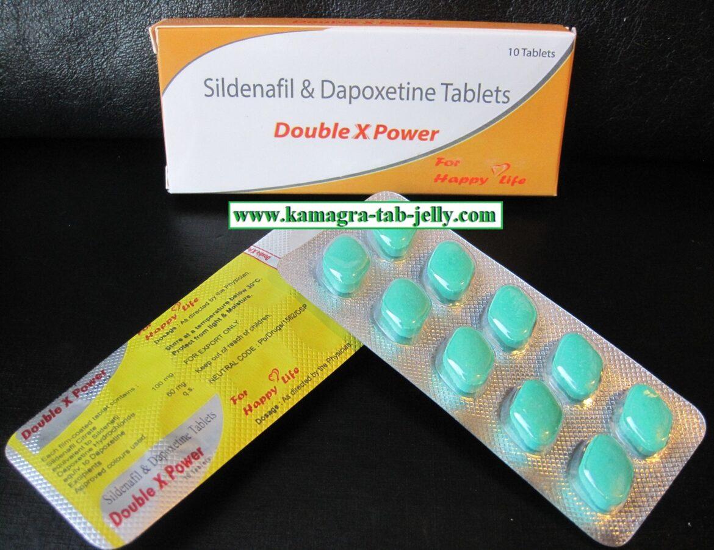 DOUBLE X POWER (Sildenafil  + Dapoxetine)