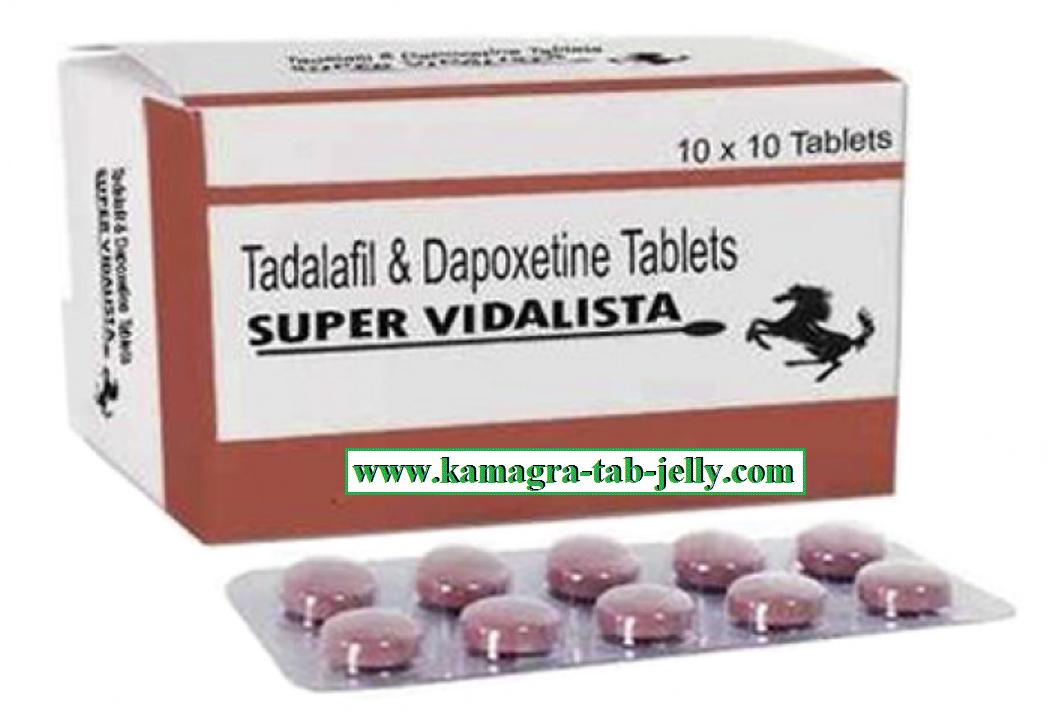 SUPER VIDALISTA (Tadalafil + Dapoxetine)